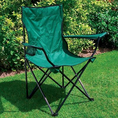 £19.98 • Buy Folding Picnic Chair Seat & Cup Holder Furniture Garden Outdoor Fishing Camping