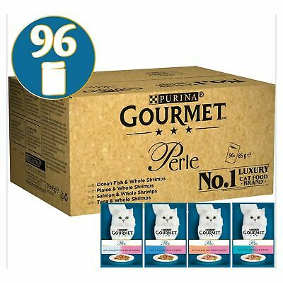 Gourmet Perle Ocean Delicacies In Gravy Cat Food (96 X 85g) • 42.99£