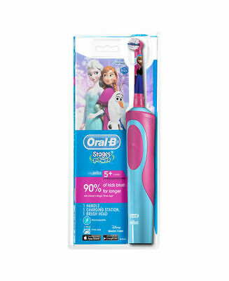 AU44.99 • Buy Oral-B Disney Frozen Vitality Rechargeable Kids Electric Toothbrush & Toothpaste