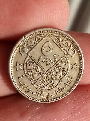 £3.76 • Buy 1948 5 Piastres KM# 82 AH 1367 High Grade Middle East Arabic 231119-2