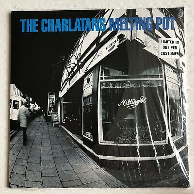 The Charlatans - Melting Pot 500 Only Hmv Signed Record Autographed Tim Burgess • 89.99£