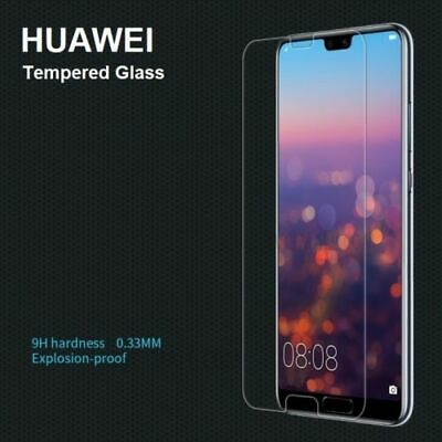 Genuine 9H Hardness Tempered Glass Screen Protector Cover For All Huawei Models • 1.99£