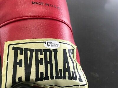 AU2250 • Buy Muhammad Ali Signed Boxing Glove(everlast)