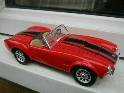 Maisto 1/24 Scale 1965 Shelby Cobra 427 • 10£