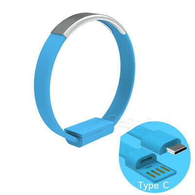 $8.35 • Buy Bracelet Wrist Band USB Charging Charger Data Sync Cable Fits Type-C F Cellphone