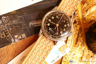 $ CDN608.99 • Buy 1950's Vintage Lavina Wakmann Military UP Down Chronograph Venus 170 Tropical