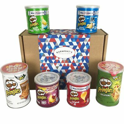 The Ultimate Pringles Selection Hamper Box - Pizza, Jalapeño, Texas BBQ & More • 15.99£