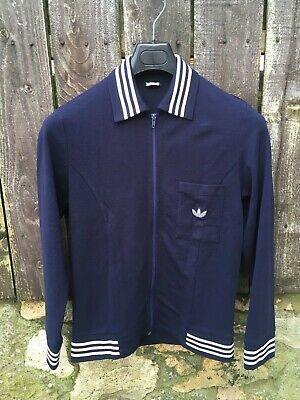 Vintage 70s Adidas Touring Track Top Made In West Germany Small OG Georg Schwahn • 99.99£