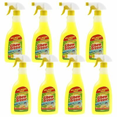 £11.99 • Buy 8 X Elbow Grease All Purpose Degreaser 500ml Trigger Cleaner Bathroom Kitchen