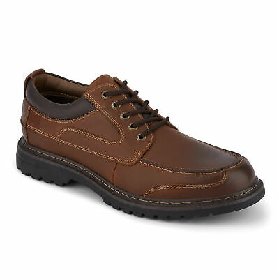 View Details Dockers Mens Overton Leather Rugged Casual Lace-up Oxford Shoe With NeverWet • 39.99$