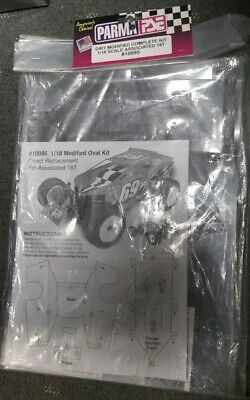 $53.99 • Buy Parma Pse Dirt Modified Complete Kit 1/18 Scale Associated 18T #10095 New