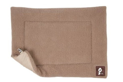 Yap Cossii Cage And Carrier Mat, Beige Faux Lambswool, 29 X 49 Inch • 27.65£