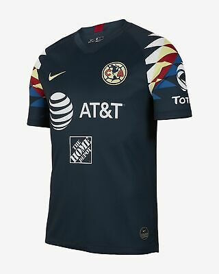 Nike Club America 2019/20 Stadium Away Jersey Navy/ Red/ Yellow • 78$
