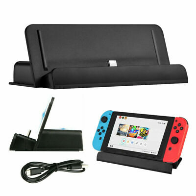 $9.99 • Buy For Nintendo Switch Charger Charging Dock Station Stand + Type-C Charging Cable