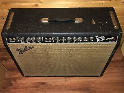 $ CDN4000 • Buy Fender Vintage 1966 Twin Reverb Blackface AB763