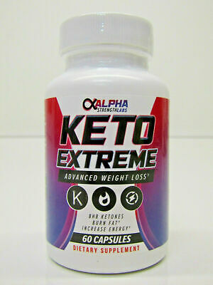 $12.99 • Buy Alpha Strength Labs Keto Extreme Advanced Weight Loss 60 Capsules
