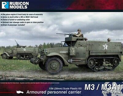 $24.30 • Buy Rubicon Models M3/M3A1 Half Track 1/56 Bolt Action  RM280027
