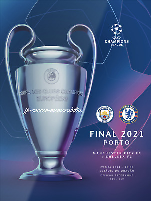 £14.50 • Buy Chelsea V Manchester City - UEFA Champions League Final - 29 May 2021 - Mint