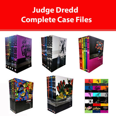 Judge Dredd Complete Case Files Series 1 2 3 Upto6 Collection Vol.1-34 Books Set • 64.99£