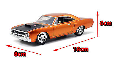 Fast & Furious Metals Diecast Collectors Dom's Plymouth Road Runner Kids Toy Car • 43.29£