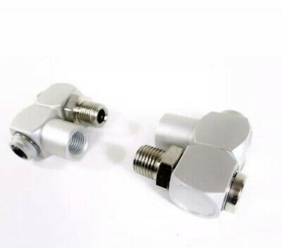 Z-Swivel Air Connector 1pc Set 1/4  BSP Compressed Air Line Ends BERGEN 8143 • 8.99£
