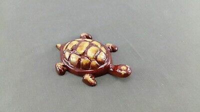 $ CDN10.99 • Buy Blue Mountain Pottery Mini Turtle In Harvest Gold