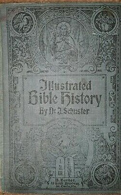 Illustrated Bible History By Schuster 1909 • 11.35£