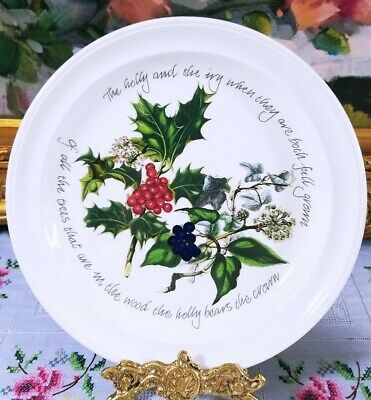 Portmeirion The Holly And The Ivy Salad Plate  • 12.95$
