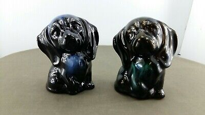 $ CDN18.99 • Buy Blue Mountain Pottery Pair Of Sitting Dogs