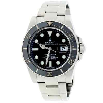 $ CDN13993.58 • Buy Rolex Submariner Date Ceramic Bezel 40MM Oyster Steel Watch 116610 Box&Papers