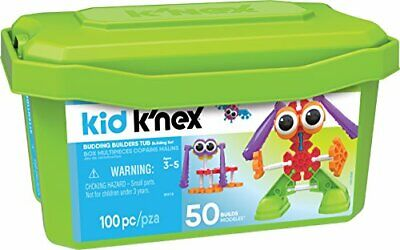 Kid K NEX Budding Builders Building Set For Ages 3 And Up Preschool Educational • 24.94£