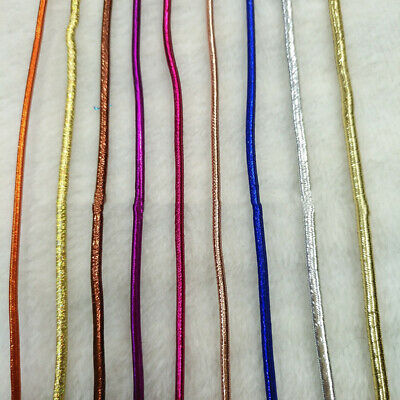 $ CDN4.80 • Buy 10M 2mm Colorful Elastic Stretch Cord Jewelry Band Cord Thread Rope DIY Crafts