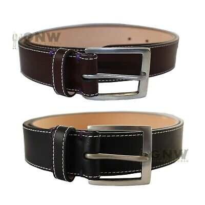 £69.99 • Buy PAUL SMITH MEN HAND MADE MINI TIP & LOGO LEATHER BELT BLACK/ BROWN NEW Was £115