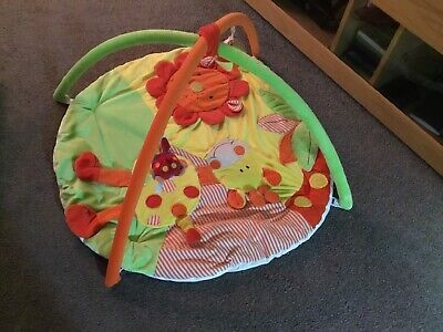 £12.90 • Buy Red Kite Safari Baby Play Gym Playmat Activity Play Mat With Hanging Toys