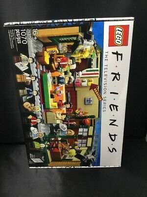 Authentic Lego Friends Central Perk Cafe Ideas Set 21319 Factory Sealed  • 71.99$