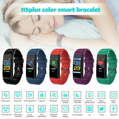 AU17.11 • Buy Fitness Smart Watch Activity Tracker WomenMen Kids Fitbit Android IOS Heart Rate