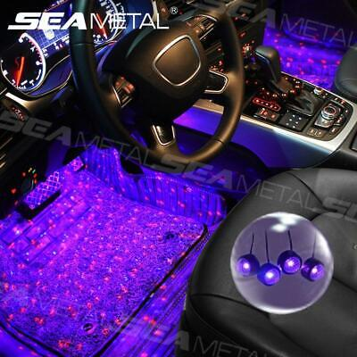 $7.97 • Buy 5V USB Charge Car Interior Accessories Floor Decorative Atmosphere LED Light