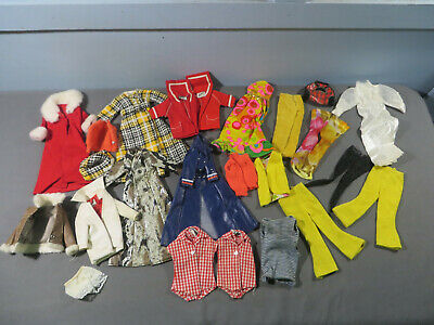 $ CDN84.84 • Buy Vintage Original Barbie Maddie Mod Clone Doll Mixed Lot Of Clothes