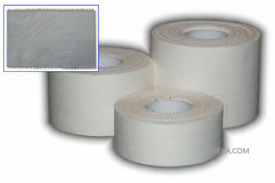 PRO Zinc Oxide White Tearable Sport Strapping Rugby Tape 2.5cm 3.8cm 5cm X 10M • 2.90£