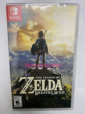 The Legend Of Zelda Breath Of The Wild Switch New Sealed Fast Ship W Tracking • 48.95$