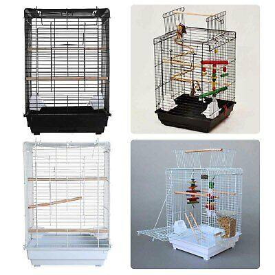 £29.99 • Buy FoxHunter Metal Bird Cage With Stand Aviary Parrot Budgie Canary Cockatiel