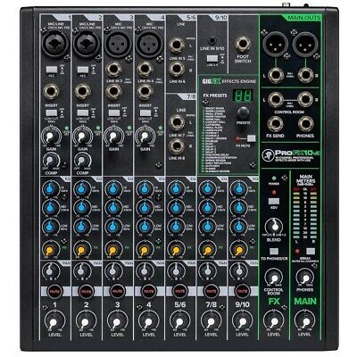 $412.54 • Buy Mackie ProFX10v3 10-channel Compact Mixer With USB & Effects PROFX10