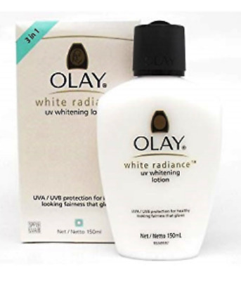 AU35.91 • Buy Olay White Radiance UV Whitening Lotion SPF19 UVA/UVB (150ml) NEW