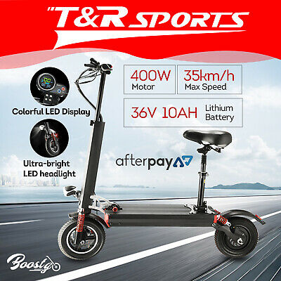 AU499.51 • Buy BOOSTGO S7 10  Tire Electric Scooter With Adjustable Seat Double Brake System