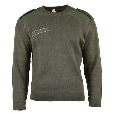 $26.10 • Buy Genuine French Army Pullover Olive Commando Jumper Military Sweater Round Neck