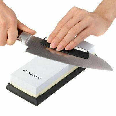 $36.99 • Buy Sharpen Up - Knife Sharpening Stone Kit With Black Silica Non-slip Base - Free S