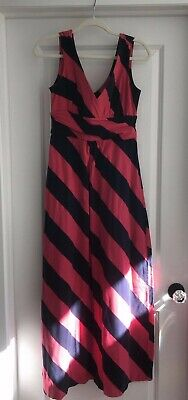 VGUC Women's Striped LILLY PULITZER Maxi Dress Size M • 3.25$