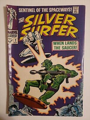 Silver Surfer #2 (October 1968) 1st Appearance Badoon * 1 Book Lot * • 25$