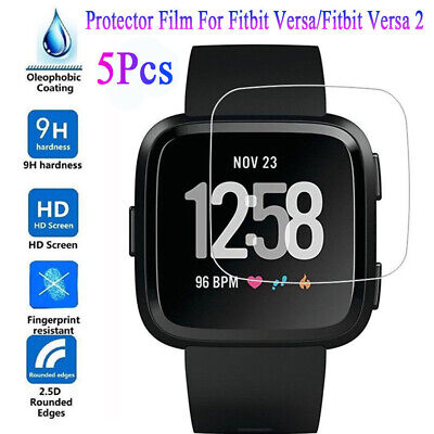 $ CDN3.47 • Buy 9H Tempered Glass For Fitbit Versa Lite Versa 2 Protective Screen Protector Film