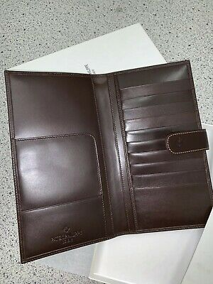 Authentic And New PATEK PHILIPPE Leather Credit Card Holder / Travel Wallet • 507.09$